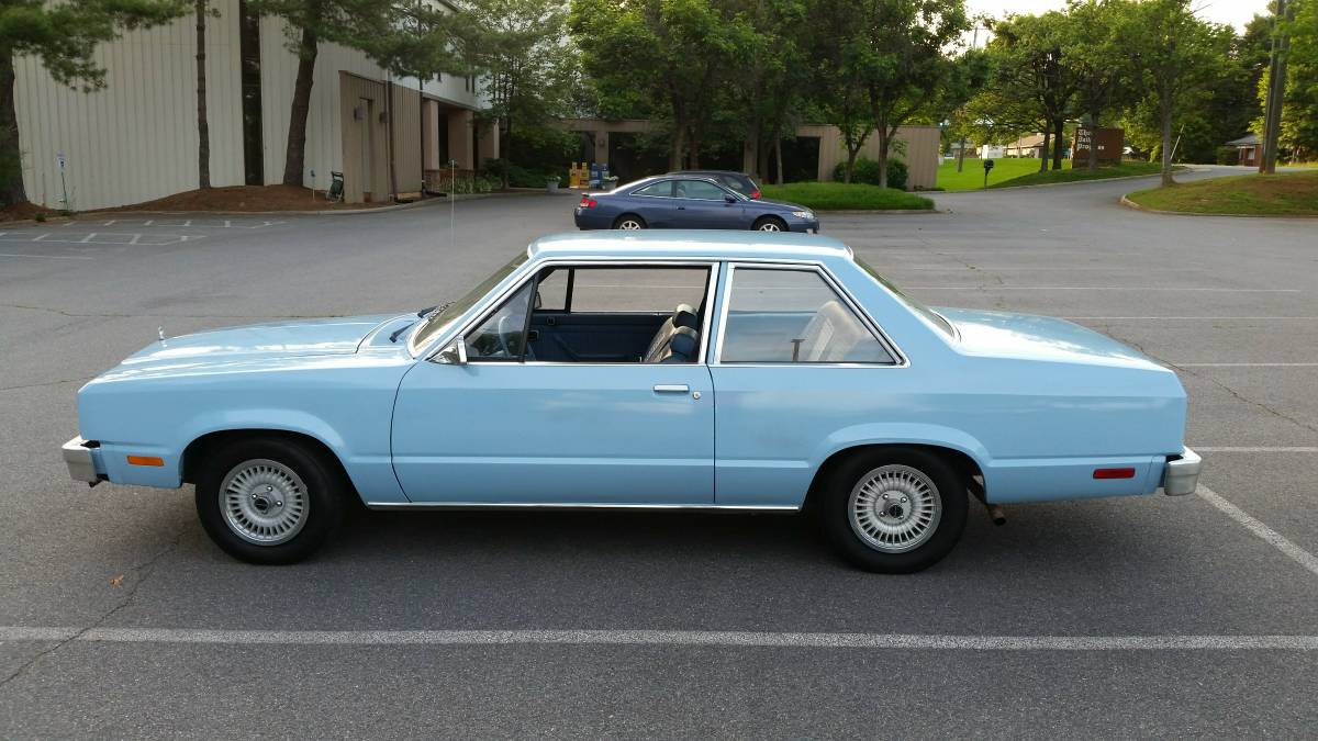 Daily turismo a rant 1980 ford fairmont 2 door