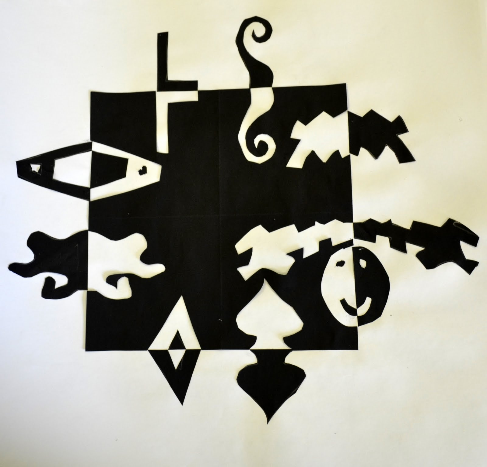 House of Jacksons: Positive and Negative Space