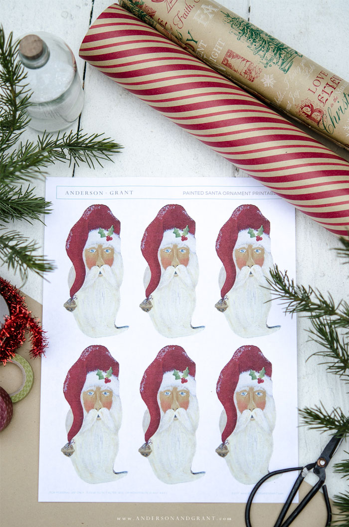 How To Create Christmas Gift Tags In Wordsanta claus gift tags