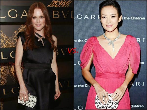 "Who Wore It Best: Bvlgari's ""Serpenti"" Necklace Edition"