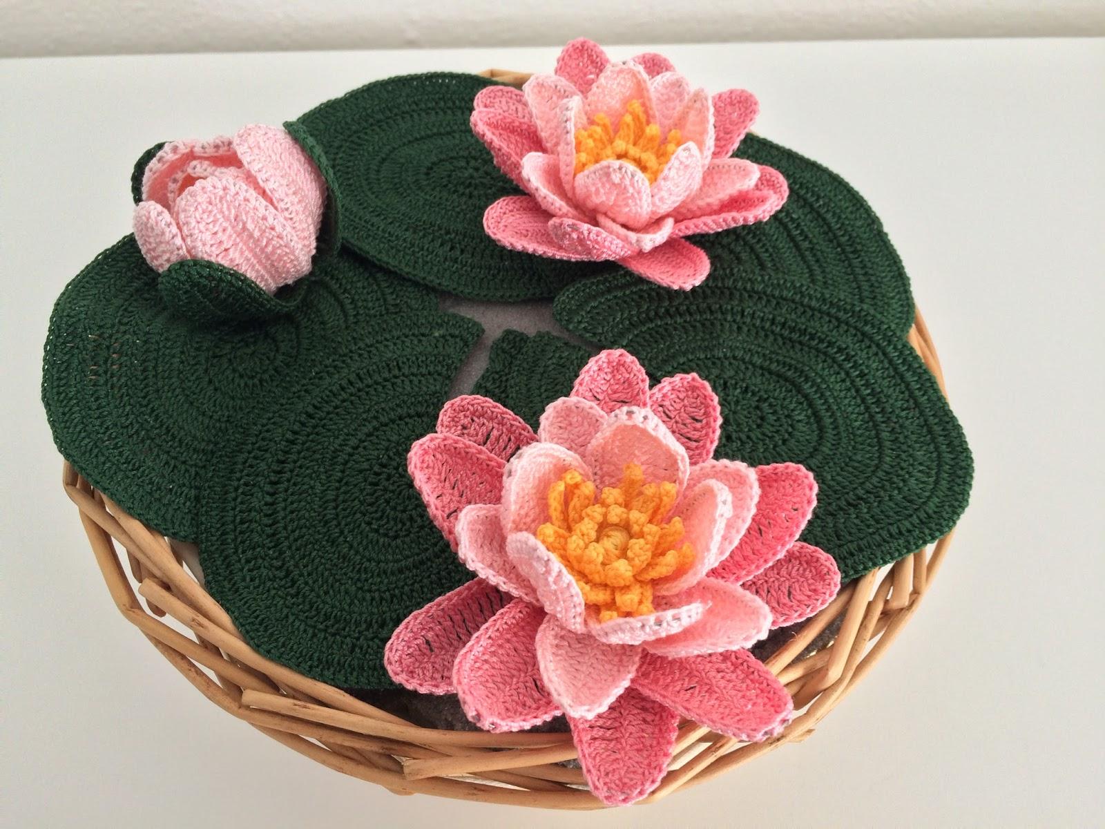 Il blog di sam how to crochet a water lily for Il blog di sam piante grasse