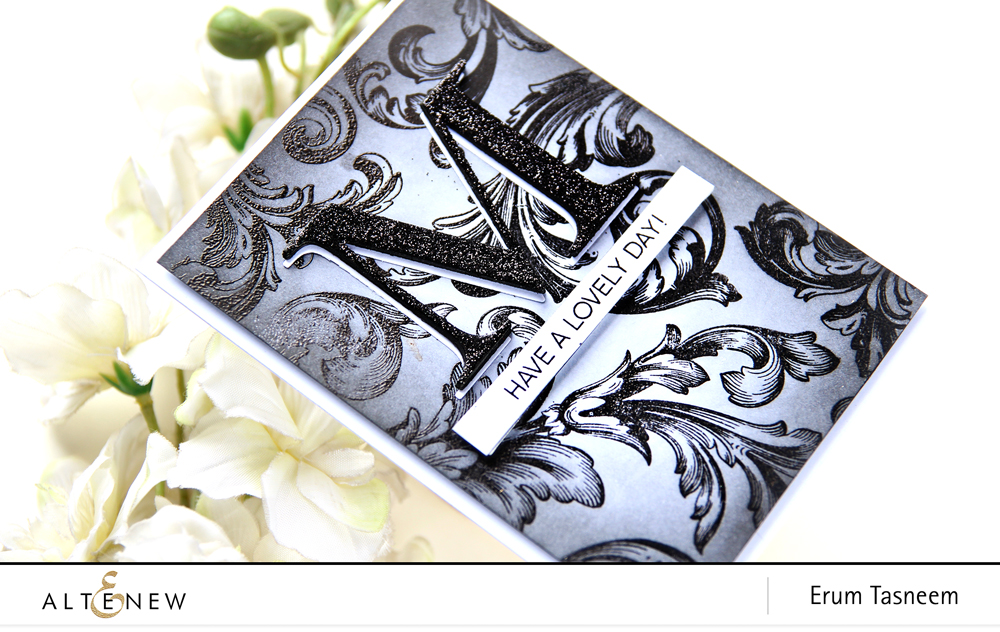 Altenew Baroque Motifs Stamp Set | Erum Tasneem | @pr0digy0