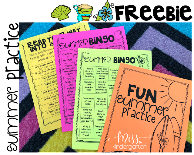Grab these FREE summer practice games to help your kiddos avoid the summer slide.