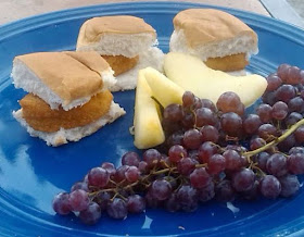 Make Easy Chicken Sliders with Nuggets