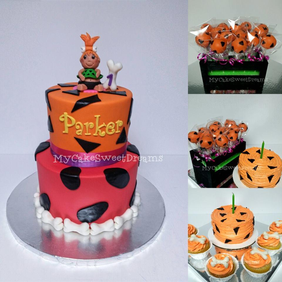 Cakesby_Zana: Pebbles Flintstones Cake