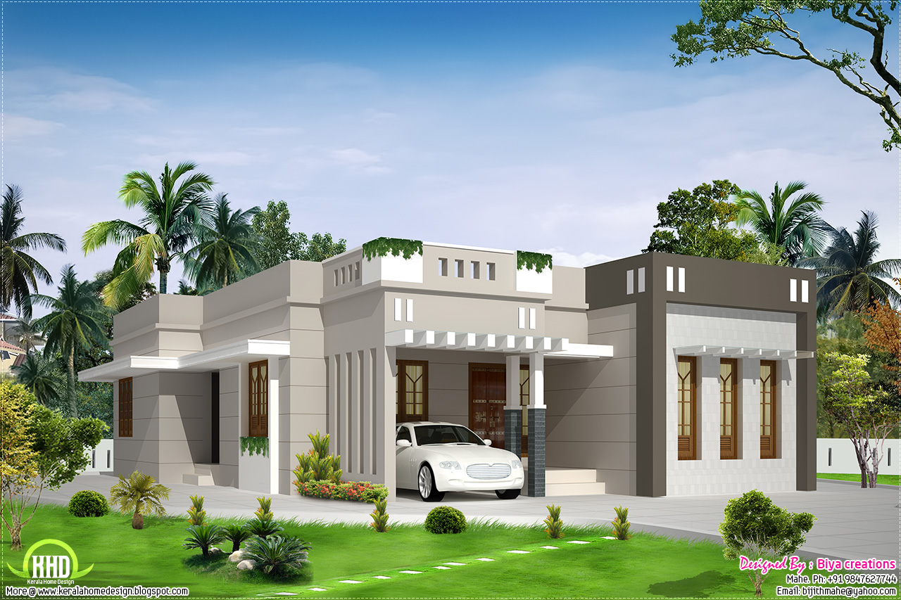 35 small and simple but beautiful house with roof deck - Modern House Designs Single Floor