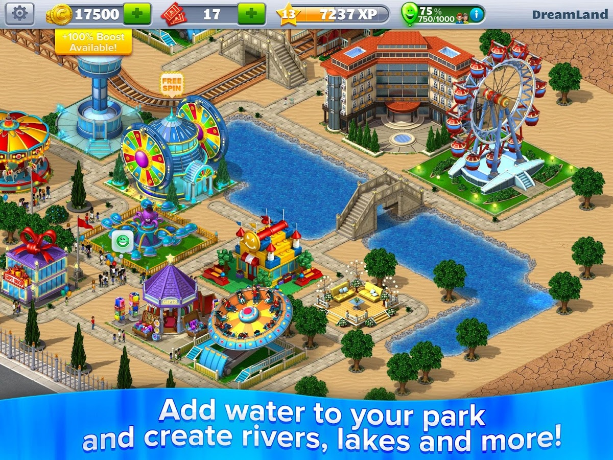 RollerCoaster Tycoon 4 Mobile MOD APK