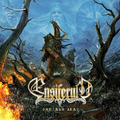 Ensiferum - One Man Army (2015) Album Cover