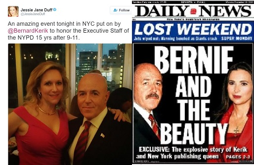 Felon Bernard Kerik continues to party and profit on September 11th and 9/11 dead