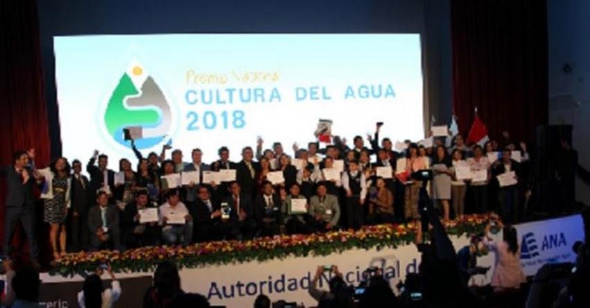 MINAGRI reconoce a ganadores del Premio Nacional de Cultura del Agua - www.minagri.gob.pe