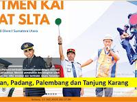 PJKA Divre Sumatra Bagian Utara - Medan, Padang, Palembang dan Tanjung Karang