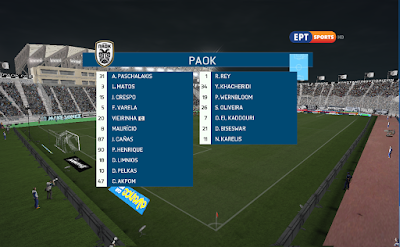 FIFA 16 Graphic Pack Super League Greece 2018/2019