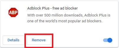remove adblocker
