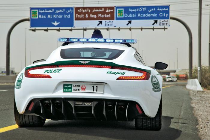 astonmartin Τα 10 ακριβότερα περιπολικά στο Ντουμπάι
