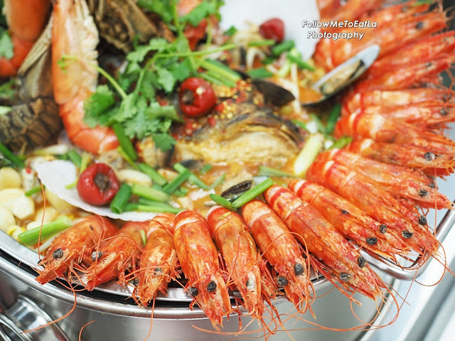 Perfect Platter Of Tiger Prawns