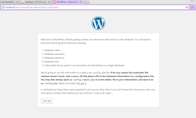 Tutorial Instal CMS WordPress 4.9.1 di Localhost XAMPP