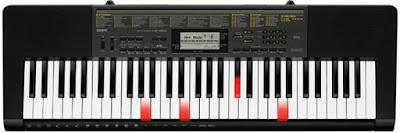 Đàn organ phím sáng Casio LK-265 khơi dậy hứng thú âm nhạc cho bé