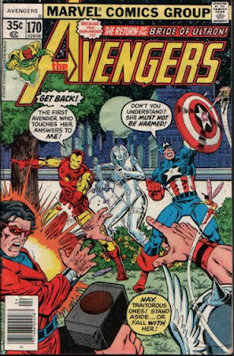Avengers #170, Jocasta