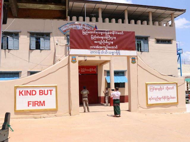 Dozens of inmates escape in Myanmar jail break