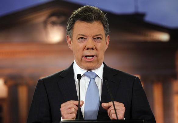 Santos pide a CIDH tratar la masiva migración de venezolanos a Colombia