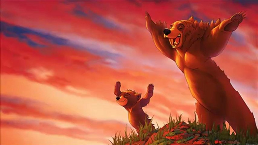 Kenai Koda Brother Bear 2003 animatedfilmreviews.filminspector.com