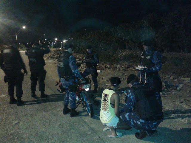 Guarda Municipal de Aracaju (SE) detém três elementos acusados de tráfico de drogas