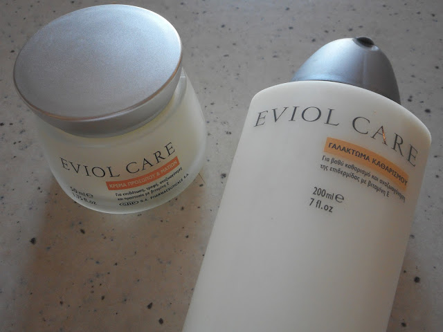 Eviol Care Face Cream and Cleansing Milk