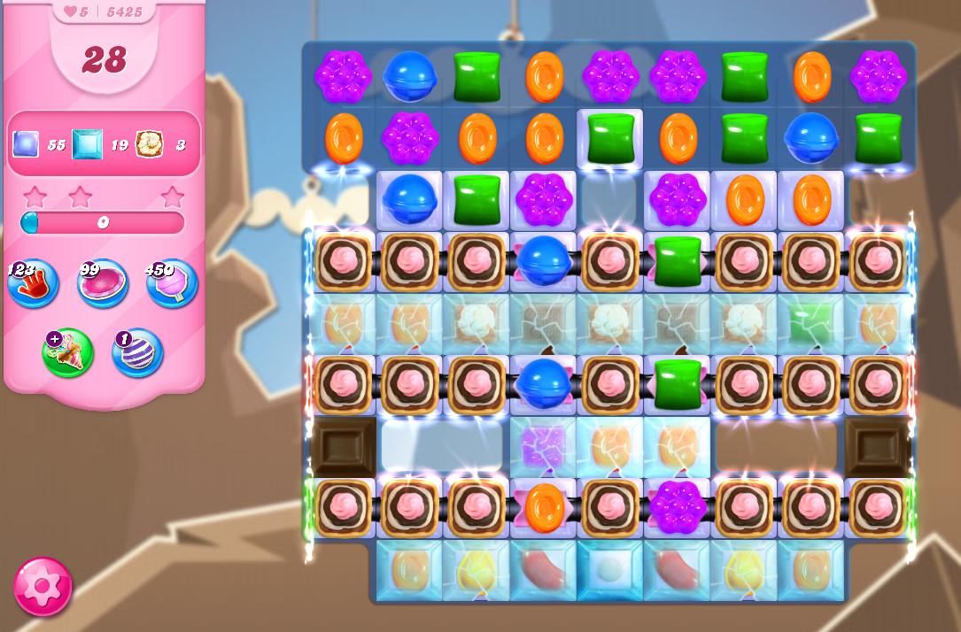Candy Crush Saga level 5425