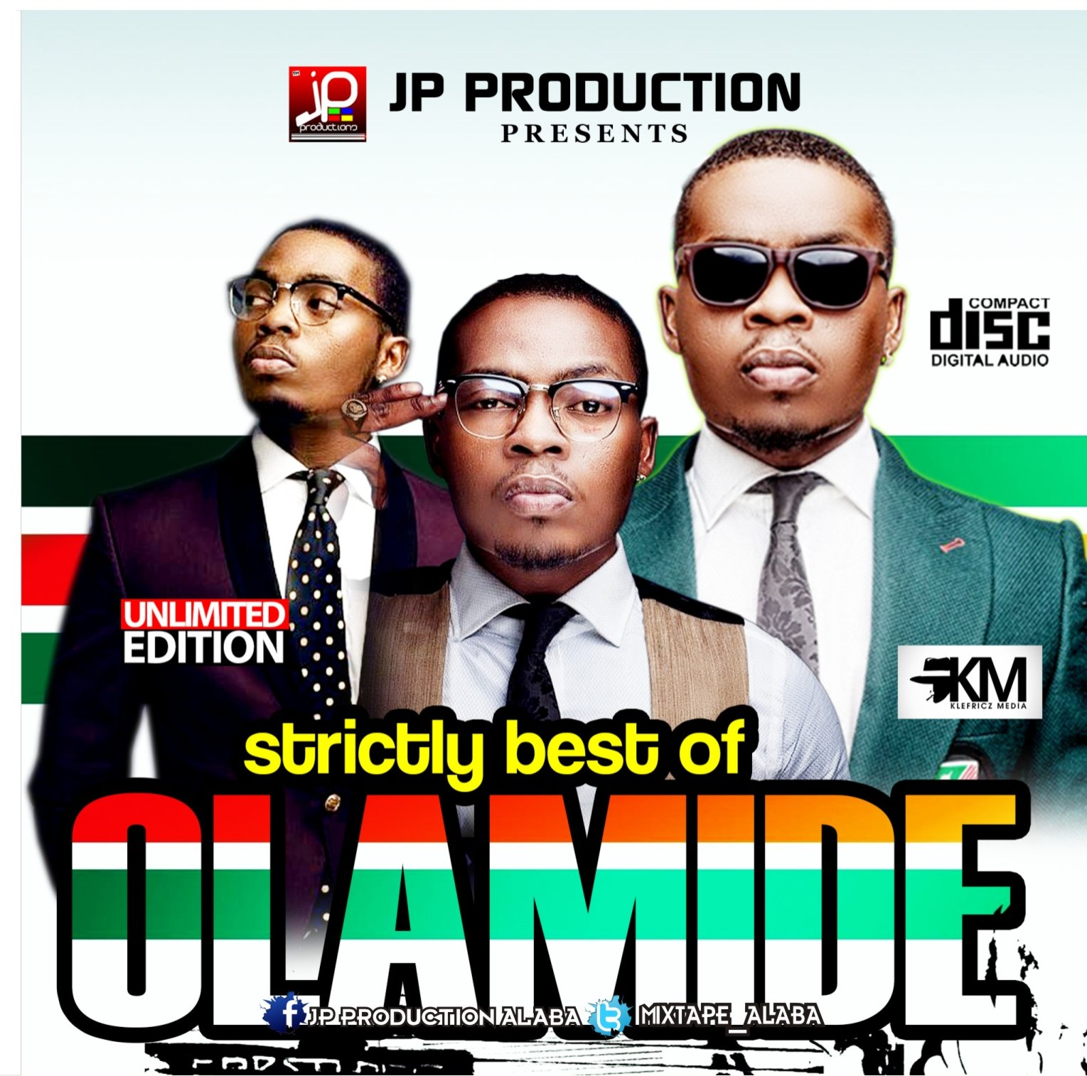 ALABA MIX TAPE-BEST OF OLAMIDE (BY JP PRODUCTION) - ALABA
