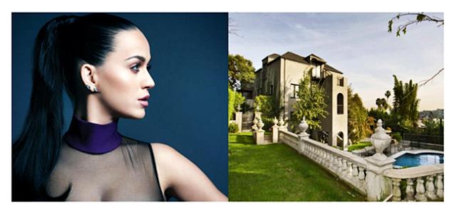 Mengintip Rumah Mediterania Milik Penyanyi Katy Perry