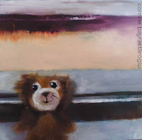 toy bear painting