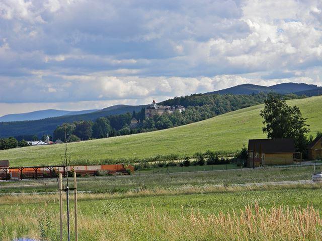 siedziba biskupów, Czechy, góry, zabytek