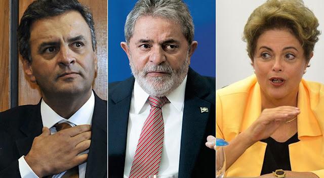Delação JBS: Delator diz que Aécio recebeu R$ 80 mi e Dilma e Lula , US$ 150 mi em propina