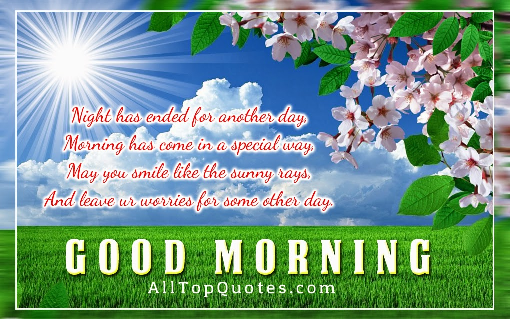 Cool Good Morning wishes with Nice Quotes - All Top Quotes ...