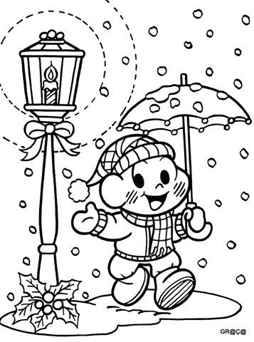 Atividades Educativas Pra Colorir E Imprimir Atividades De Natal