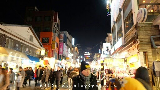 night life in hongdae