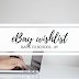 Ebay wishlist #9 - Back to School