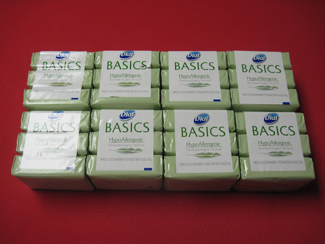 Dial Bar Soap deal purchased for Operation Christmas Child shoeboxes.