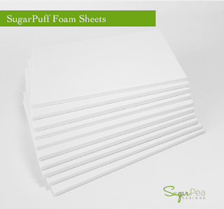 http://www.sugarpeadesigns.com/product/sugarpuff-foam-sheets