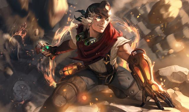 Novas Splash Art Ezreal !! - Fórum de League of Legends