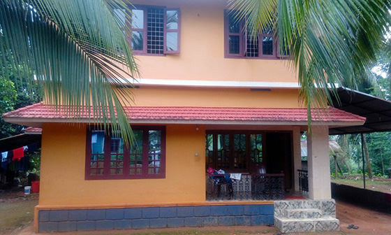 Old house to colonial remodeling kerala home design and Old home renovation in kerala