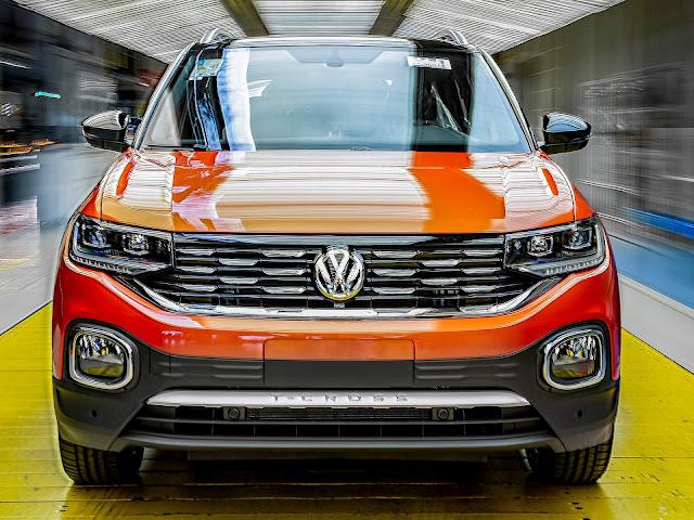 Volkswagen T-Cross no Brasil
