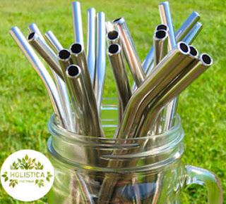 Stainless steel straws Australia - Holistica