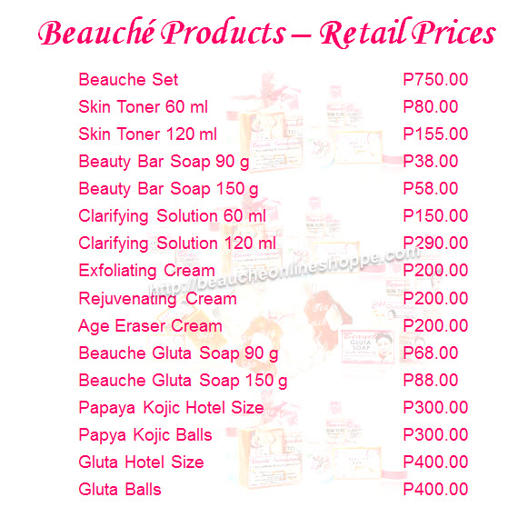 Products Beauche Online Shoppe