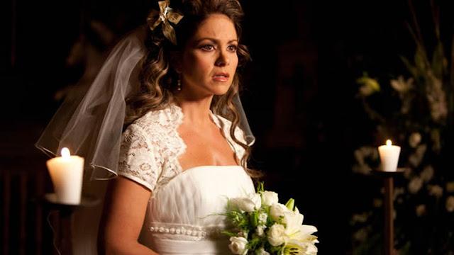 A Dona, Soy tu duena, Valentina (Lucero) vestido de noiva, novela sbt