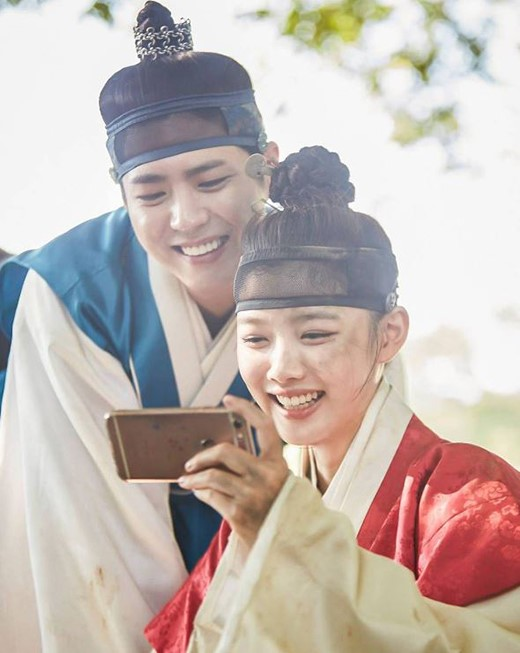 all about kpop park bo gum and kim yoo jung are simply adorable