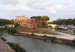 Rome's Isola Tiberina used to be one of Giulio Einaudi's favourite places in the capital