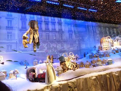 Paris illuminations et vitrines de Noël en 2014