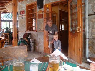 Koprivshtitsa'da yemek yediğimiz restoran