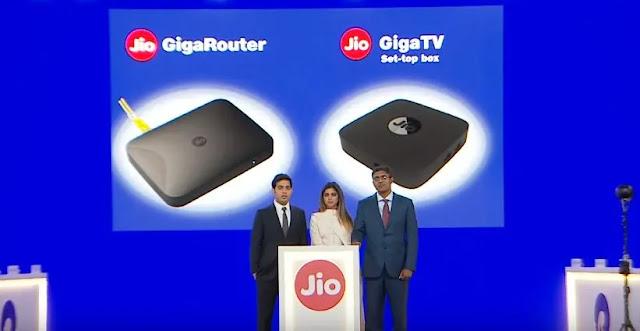 Jio Gigafiber Router